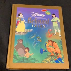 Disney Beloved 11 Tales Children's Book Hard Covet